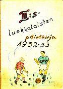 päiväkirjan kansi 1952-53_3A
