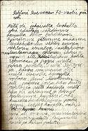 päiväkirjan kansi 1953-54_1B