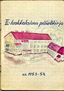 päiväkirjan kansi 1953-54_4A