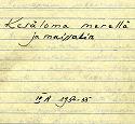 päiväkirjan kansi 1954-55_4A
